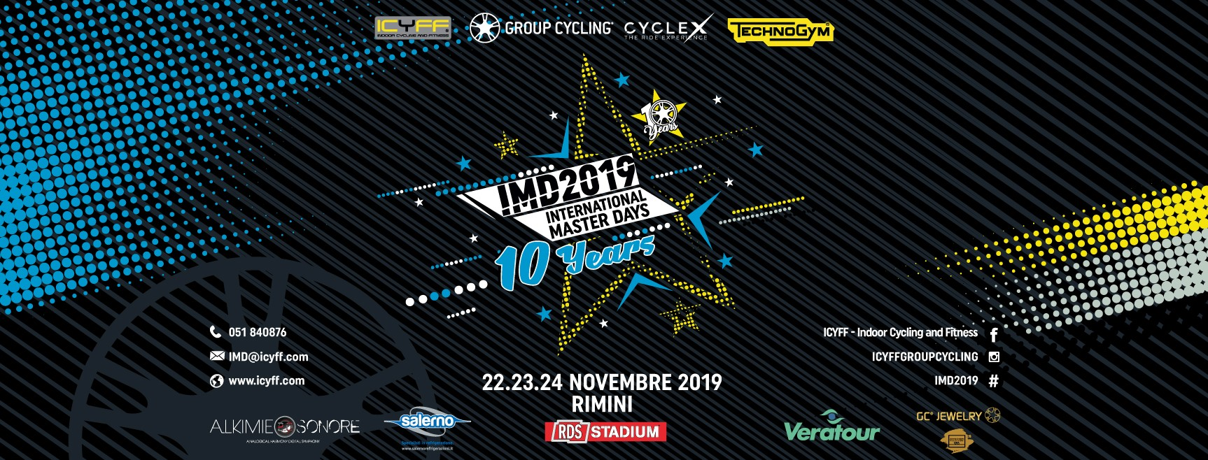 INTERNATIONAL MASTER DAYS DI SPINNING - RIMINI 2019