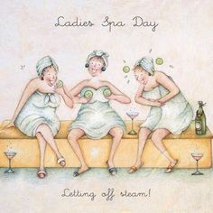 Ladies spa day